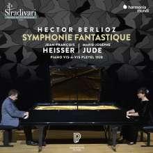 Hector Berlioz (1803-1869): Symphonie fantastique (Fassung für 2 Klaviere von Jean-Francois Heisser), CD