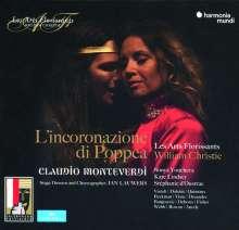 Claudio Monteverdi (1567-1643): L'incoronazione di Poppea, 4 CDs