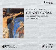 Chant Corse - 16. & 17. Jahrhundert, CD