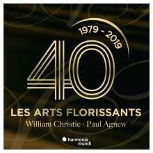 William Christie & Les Arts Florissants - 40th Anniversary, 3 CDs