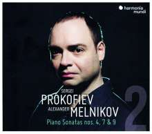 Serge Prokofieff (1891-1953): Klaviersonaten Vol.2, CD