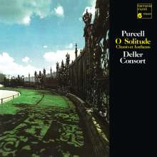 """Henry Purcell (1659-1695): Chants & Anthems """"O Solitude"""" (180g), LP"""