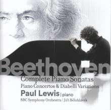 Ludwig van Beethoven (1770-1827): Klavierkonzerte Nr.1-5, 14 CDs