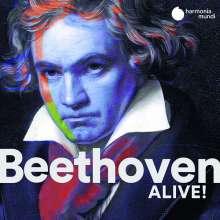 Ludwig van Beethoven (1770-1827): Beethoven Alive! (harmonia mundi-Sampler), 2 CDs