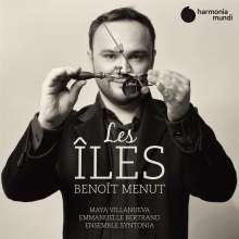 "Benoit Menut (geb. 1977): Kammermusik & Lieder - ""Les Iles"", CD"