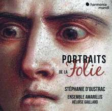 Stephanie D'Oustrac - Portraits de la Folie, CD