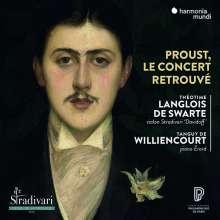 Theotime Langlois de Swarte - Proust, Le Concert retrouve, CD