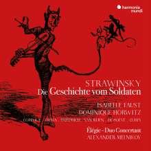Igor Strawinsky (1882-1971): L'Histoire du Soldat (in deutscher Sprache), CD