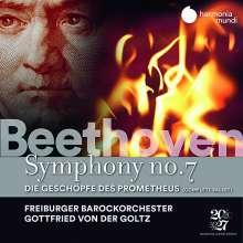Ludwig van Beethoven (1770-1827): Symphonie Nr.7, 2 CDs