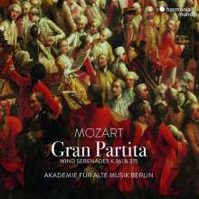 "Wolfgang Amadeus Mozart (1756-1791): Serenaden Nr.10 & 11 (B-Dur KV 361 ""Gran Partita"" & Es-Dur KV 375), CD"