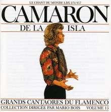 Camarón De La Isla: Grandes Figures Du Flamenco, CD