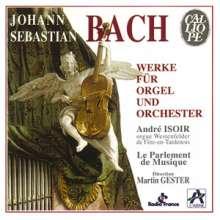 Johann Sebastian Bach (1685-1750): Konzerte für Orgel & Orchester BWV 1052a,1053a,1059a, CD