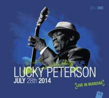 Lucky Peterson: Live In Marciac 2014 (CD + DVD), 2 CDs