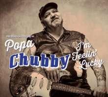 Popa Chubby (Ted Horowitz): I'm Feelin' Lucky (180g), 2 LPs