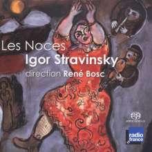 Igor Strawinsky (1882-1971): Les Noces (1923), SACD