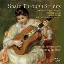 Juan Arriaga (1806-1826): Zemlinksy Quartet - Spain Through the Strings, Super Audio CD