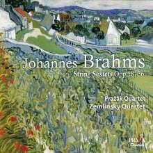 Johannes Brahms (1833-1897): Streichsextette Nr.1 & 2, SACD