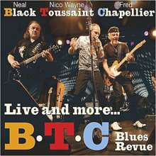 B.T.C. Blues Revue: Live And More..., 2 CDs
