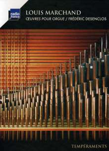 Louis Marchand (1669-1732): Orgelwerke, CD