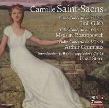 Camille Saint-Saens (1835-1921): Klavierkonzert Nr.2, SACD