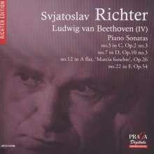 Ludwig van Beethoven (1770-1827): Klaviersonaten Nr.3,7,12,22, SACD