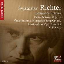 Johannes Brahms (1833-1897): Klaviersonaten Nr.1 & 2, Super Audio CD
