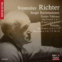 Sergej Rachmaninoff (1873-1943): Etudes-Tableaux (Ausz.), SACD