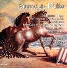 Manuel de Falla (1876-1946): El Amor Brujo, SACD