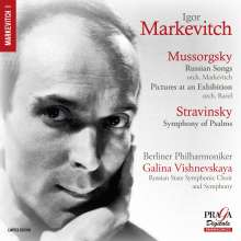Igor Markevitch dirigiert, SACD
