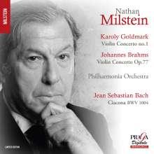 Nathan Milstein spielt Violinkonzerte, SACD
