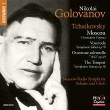 Peter Iljitsch Tschaikowsky (1840-1893): Mosca (Kantate für Soli,Chor,Orchester), SACD