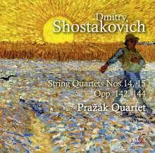 Dmitri Schostakowitsch (1906-1975): Streichquartette Nr.14 & 15, SACD
