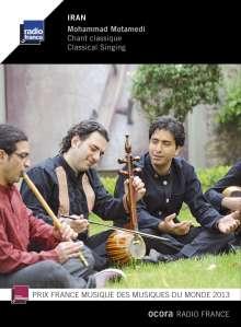 Mohammad Motamedi: Iran: Traditionelles Singen, CD