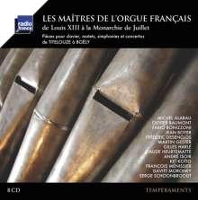 Les Maitres de l'Orgue Francais - Französische Orgelmeister des 17.-19.Jahrhunderts, 8 CDs