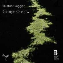 Georges Onslow (1784-1852): Streichquartette op.8 Nr.1 & 3; op.10 Nr.3, CD