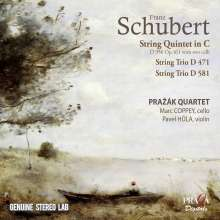 Franz Schubert (1797-1828): Streichquintett D. 956, CD
