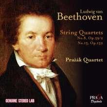 Ludwig van Beethoven (1770-1827): Streichquartette Nr.8 & 15, CD
