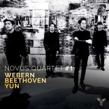 Novus Quartet - Webern / Beethoven / Yun, CD