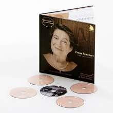 Franz Schubert (1797-1828): Klaviersonaten D.784,845,894,850,894,958-960 (Die späten Sonaten) / (Deluxe-Ausgabe mit Buch im LP-Format), 4 CDs
