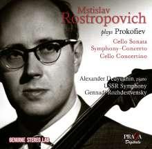 Serge Prokofieff (1891-1953): Sinfonia Concertante e-moll op.125, CD