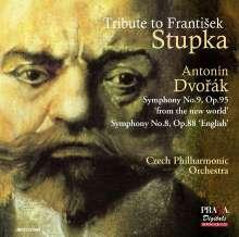 Antonin Dvorak (1841-1904): Symphonien Nr.8 & 9, Super Audio CD