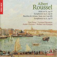 Albert Roussel (1869-1937): Symphonien Nr.3 & 4, Super Audio CD