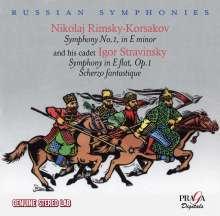 Nikolai Rimsky-Korssakoff (1844-1908): Symphonie Nr.1, CD