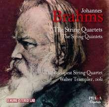 Johannes Brahms (1833-1897): Streichquartette Nr.1-3, 2 CDs