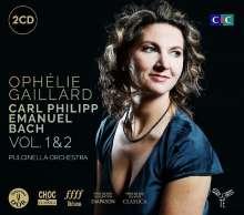 Carl Philipp Emanuel Bach (1714-1788): Symphonien Wq.178;Wq.183 Nr.2;Wq.185 Nr.5, 2 CDs