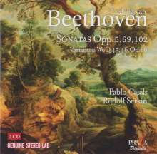 Ludwig van Beethoven (1770-1827): Cellosonaten Nr.1-5, 2 CDs