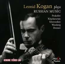 Leonid Kogan plays Russian Violin Concertos, 2 CDs