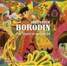 Alexander Borodin (1833-1887): Symphonien Nr.1-3, CD