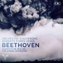 Ludwig van Beethoven (1770-1827): Streichquartette Nr.11 & 14 für Streichorchester, CD