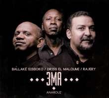 3 MA (Rajery, Ballake Sissoko & El Maloumi): Anarouz, CD